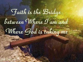 Faith is the bridge: The Gap, The Lord, God Will, Awesome Pictures, Choo Life, Faith, God Is, Quote, The Bridges