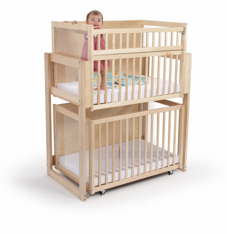 Whitney Brothers Space Saver Two-Level Crib – Modish Store