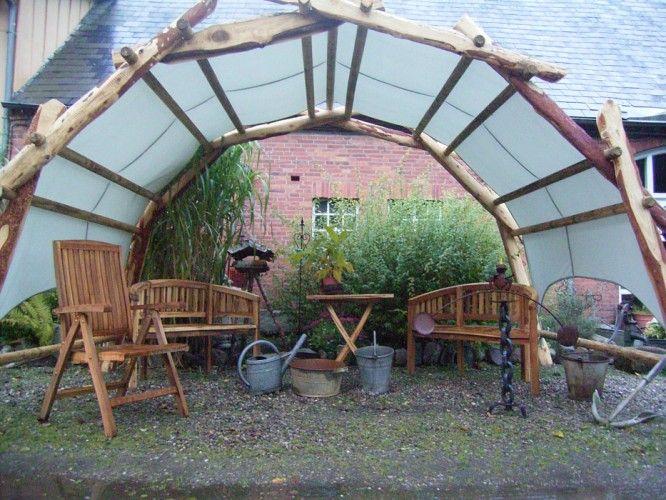 Spectacular Garten Pavillon da Vinci Bogen Br cke Woodsche Antikhof Wernershagen