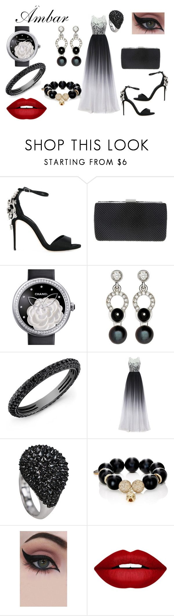 """""""sol antes de luna"""" by love1662002 on Polyvore featuring Dolce&Gabbana, Nina, Chanel, Nathalie Jean, Carole Shashona, Concrete Minerals and Forever 21"""
