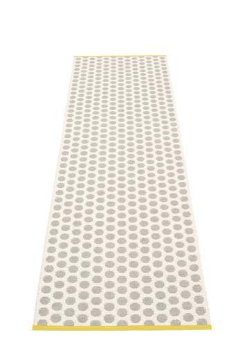 Pappelina Noa Rug Warm Grey and Vanilla: 70 x 150cm