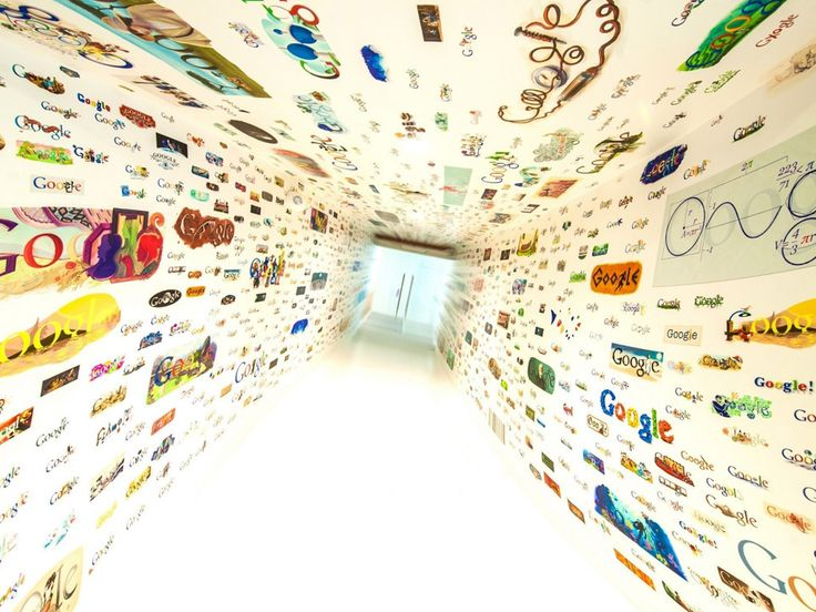 Google Logo Room