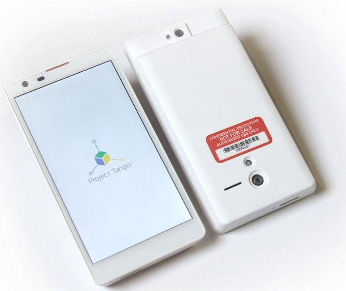 Project Tango By Google Is A 3D Mapping Smartphone -  [Click on Image Or Source on Top to See Full News]