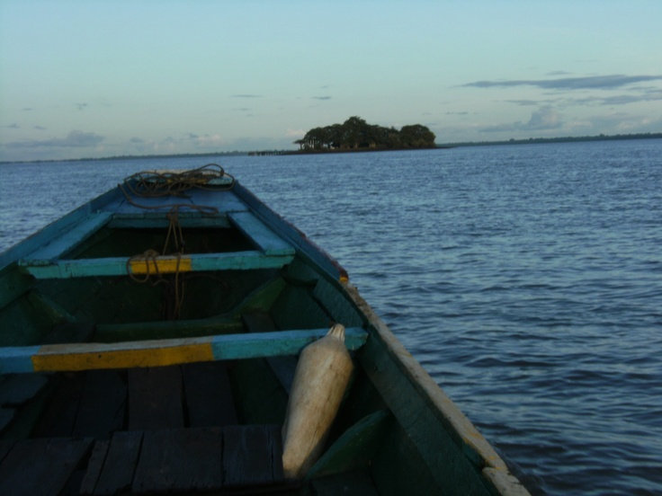 Illa dels esclaus. Kunta Kinteh Island (also called James Island)