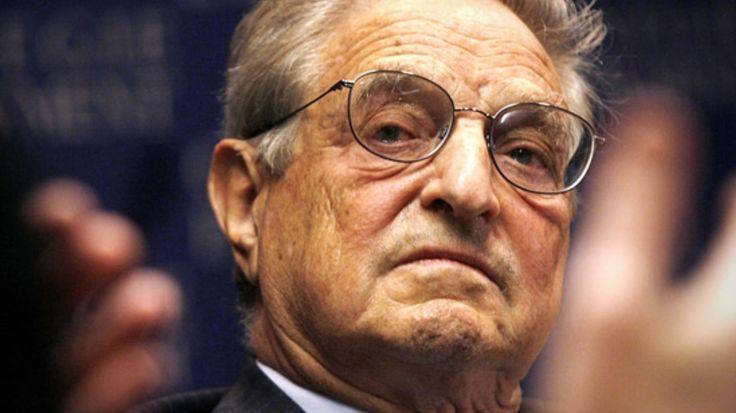 George Soros Can Be Charged With Treason and Sedition.  Definition of Sedition: Sedition: To speak or organize for the purpose of insurrection against established order.