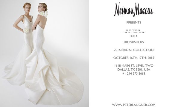 2016 Couture Collection, 16Th-17Th October at @neimanmarcus, 1618 Main St., Level two, #Dallas, TX 5201, USA. Call to book an appointment +1 214 573 2663