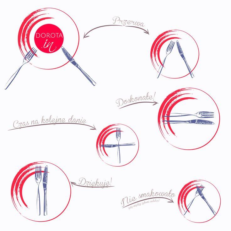 Etykieta przy stole - jak ułożyć sztućce na talerzu w trakcie i po posiłku. Znacie te ułożenia, czy może uczono Was inaczej?  http://dorota.in/jak-ulozyc-sztucce-na-talerzu/  #etykieta #savoirvivre