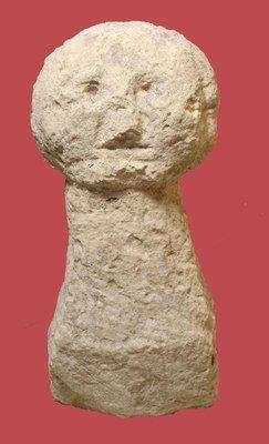 Stele antropomorfa / Anthropomorphic stele