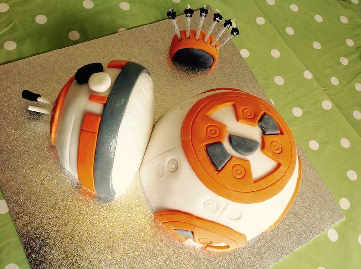 Star Wars BB8 cake