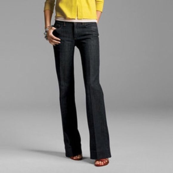 J. Crew Jeans Ultra-flattering, all season J. Crew wide leg trouser jeans in excellent, like-new condition. J. Crew Jeans