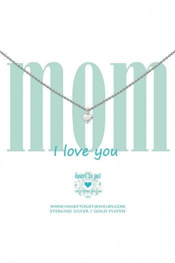 Heart to Get ketting Mom N02SHE11S-1 | JewelandWatch.com