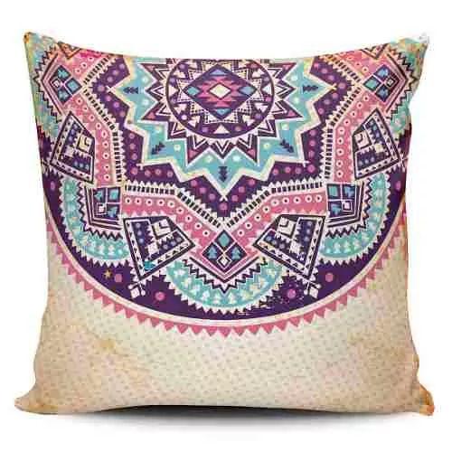 Cojin Decorativo Tayrona Store Mandala 57 - $ 43.900