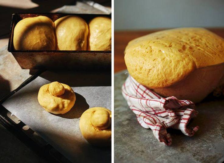 1. BOLLEBRØDET. Luftige og smørfylte briocheboller tett i tett i brødformen. 2. LAG FRANSKE BOLLER. Den klassiske smørdeigen brukes til å lage forskjellige typer briocher. Også snurrer med kanel, vaniljekrem eller rosiner.