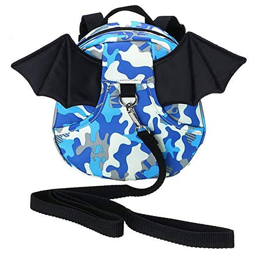 Baby Toddler Walking Safety Backpack Little Kid Boys Girls Anti-lost Travel Bag