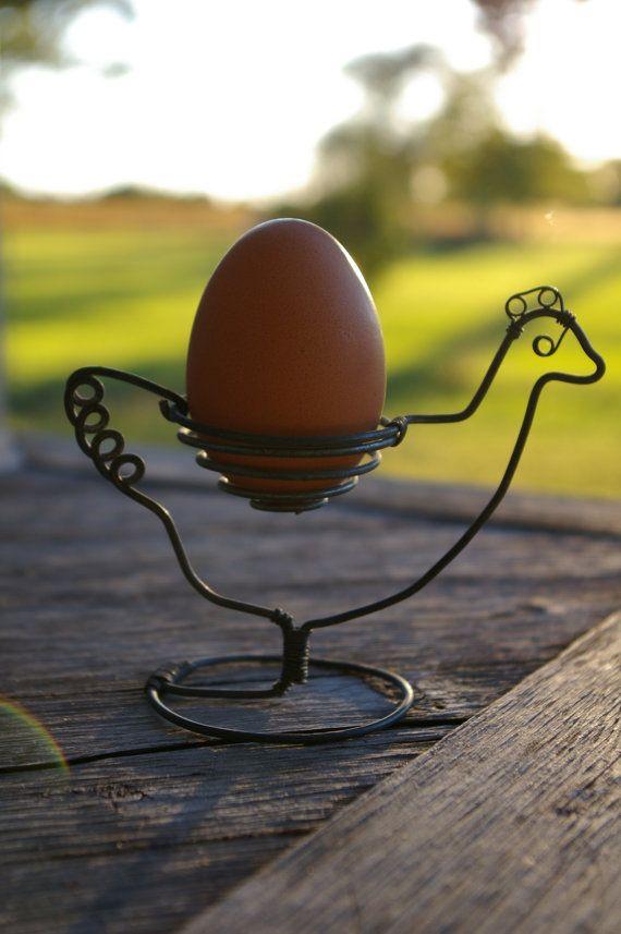 vintage chicken egg holder on etsy