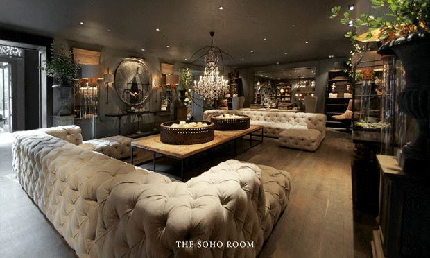 In this week's column, the boutique girl takes you inside the Restoration Hardware Gallery that is anything but what you would expect!