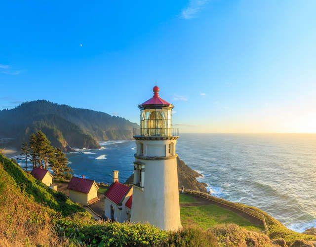 Pacific Coast Highway: Oregon - Washington
