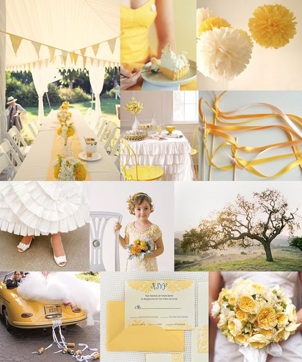 85 best wedding decor details images on pinterest dream wedding inspired by these yellow wedding details junglespirit Choice Image