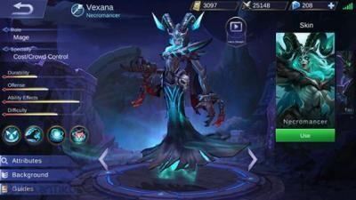 Vexana Mobile Legends