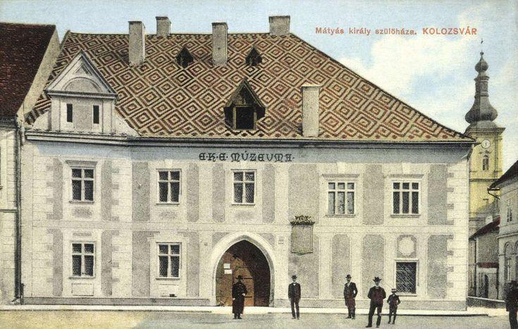 Mátyás király szülőháza,E.K.E múzeum,1913. King Matthias birth house, museum.