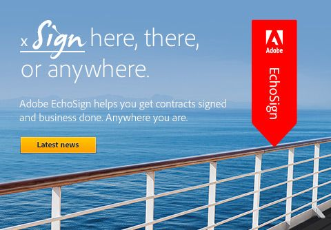 Echosign - a great tool for signing documents online
