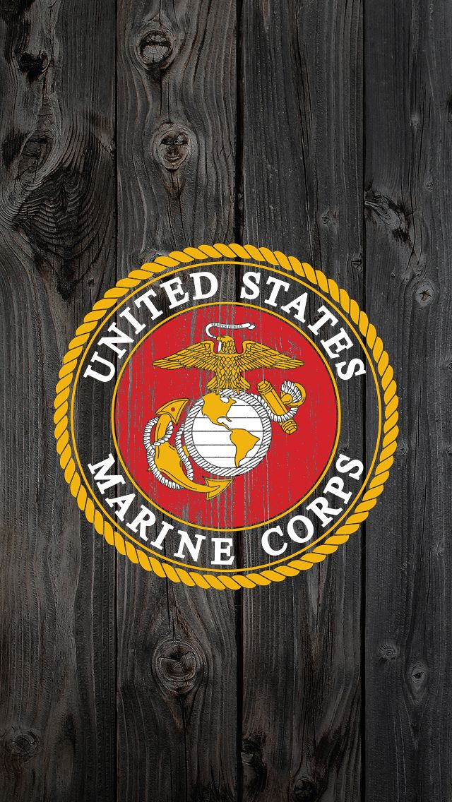 USMC iPhone Wallpaper - WallpaperSafari | Wallpaper | Pinterest | Usmc wallpaper, Marines logo ...