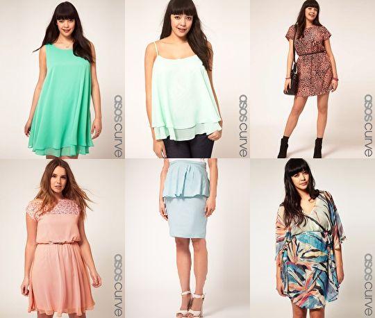 Clothing stores like asos