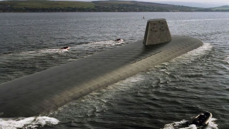 Work to start on Trident missile submarines - Sky News