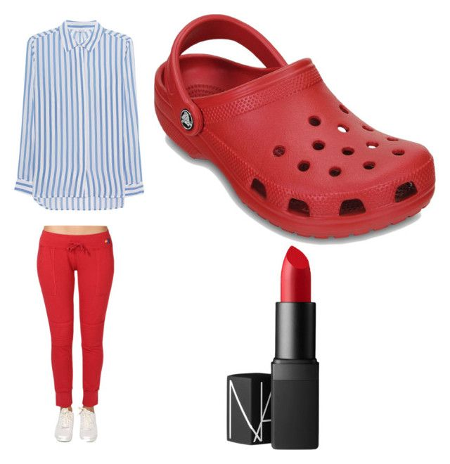 """""""Maranda Sings"""" by emmalovespolyvore on Polyvore featuring Aviator Nation, iHeart, Crocs and NARS Cosmetics"""