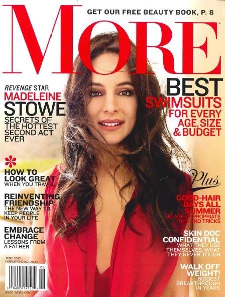 We are in JUNE's MORE magazine!!