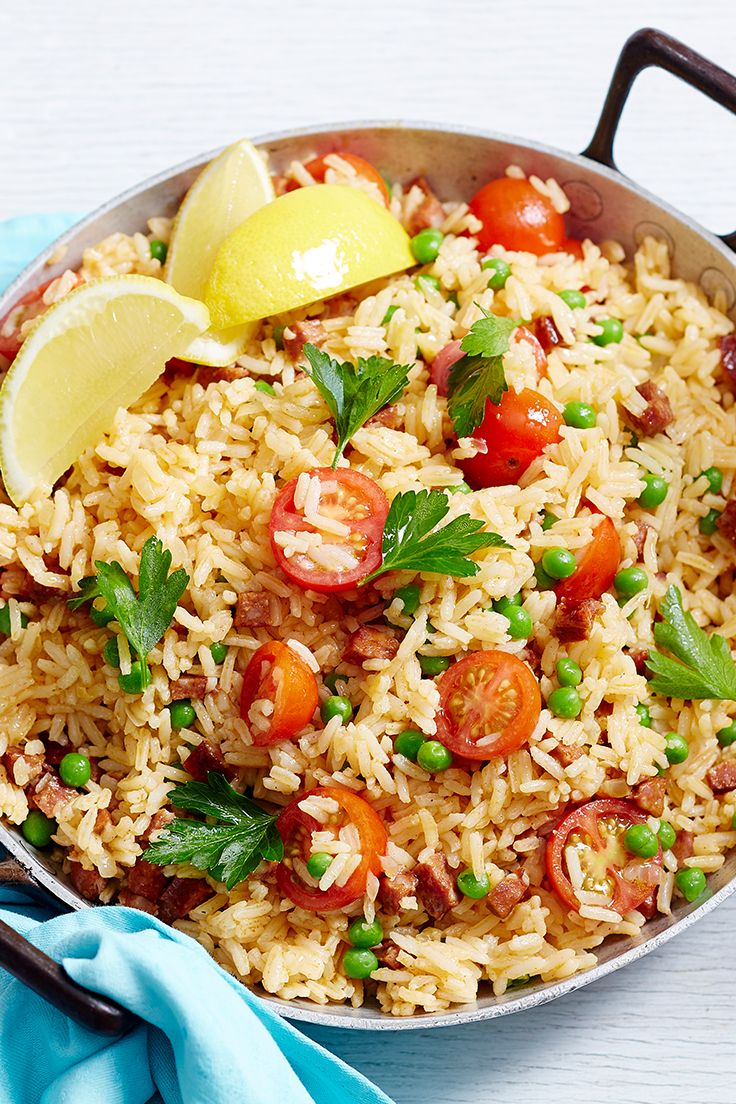 Give your fried rice a Spanish twist with the addition of spicy chorizo sausage and fresh tomatoes. Serve topped with our fresh avocado salsa for a homemade meal the family will adore.