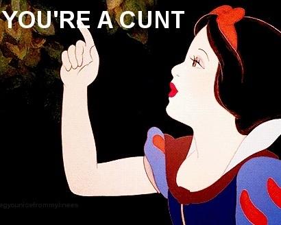 Snow White, Disney, Bitch