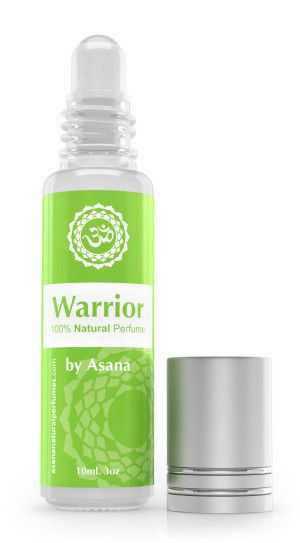 Warrior – Natural Perfume For Men by Asana natural perfumes