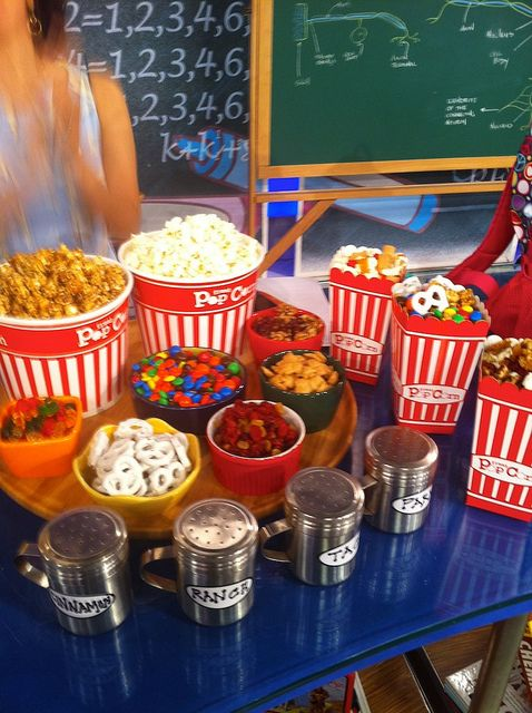 popcorn bar as featured on the Today Show with Kathie Lee and Hoda!