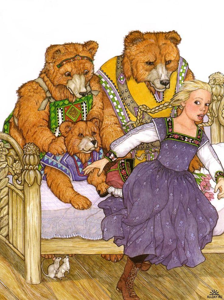 ... (Jan Brett) Goldilocks