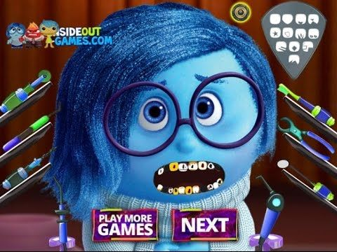 Inside Out - Sadness At The Dentist - Game Tutorial 2016