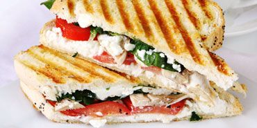 Italian Grilled Cheese: Cheese Paninis, Lunches, Paninis Recipes, Food, Chee Paninis, Grilled Cheeses, Grilled Chee Sandwiches, Goats Cheese, Goat Cheese