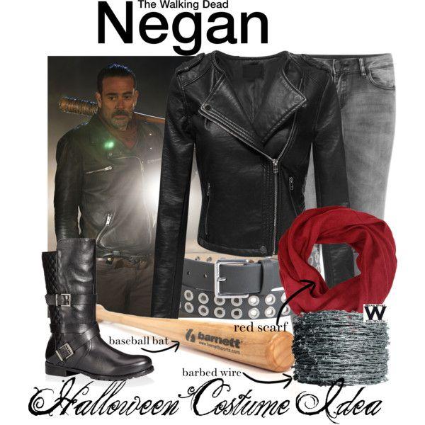 Inspired by Jeffrey Dean Morgan as Negan on The Walking Dead.