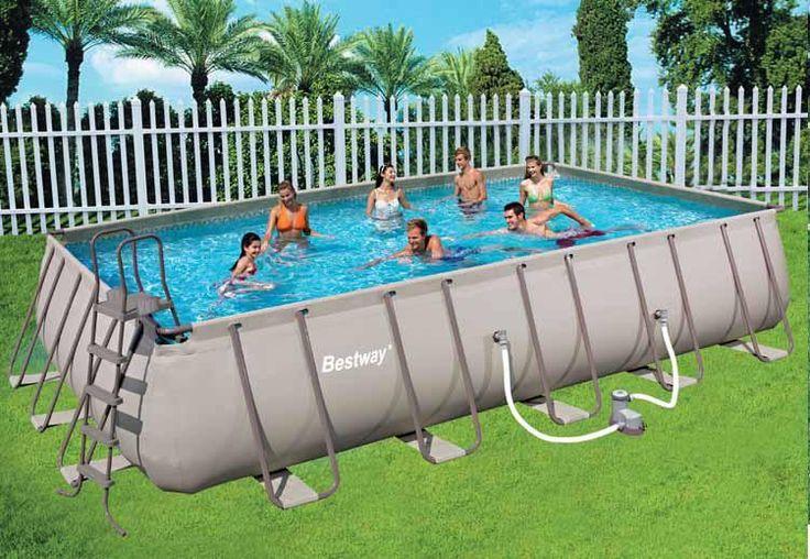 BESTWAY PISCINA CON TELAIO COMPLETA CM. 671X336X132H MOD. 56278 http://www.decariashop.it/piscine-con-telaio/1380-bestway-piscina-con-telaio-completa-cm-671x336x132h-mod-56278.html