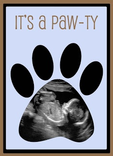 Add Pics Of Dog Children And Parents In Toe Prints?