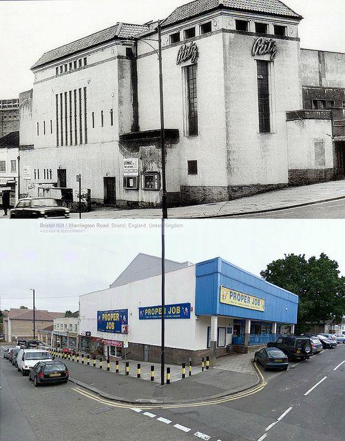 Bristol Cinema Then & Now - The Ritz, Brislington | by brizzle born and bred