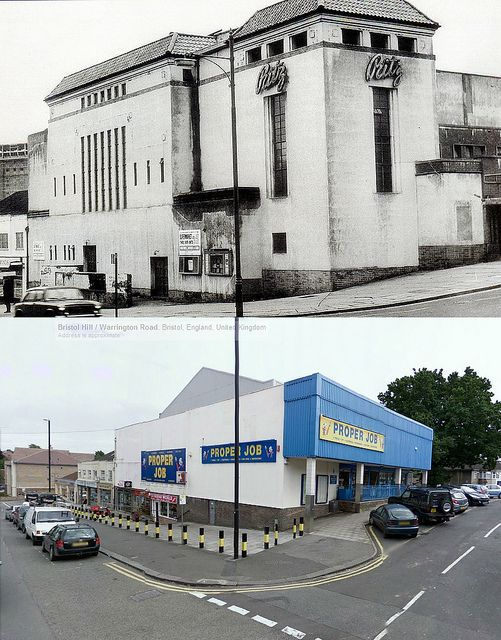 Bristol Cinema Then & Now - The Ritz, Brislington | by brizzle born and bred