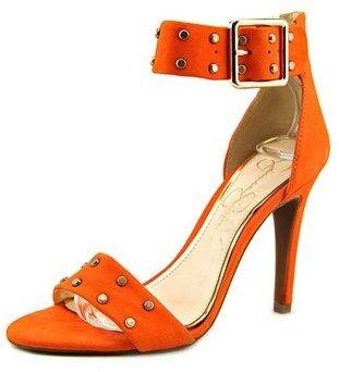 Jessica Simpson Elonna 2 Open Toe Leather Sandals.