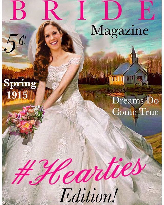 We love this beautiful fan art of Bride Magazine featuring Elizabeth. Pin your own #Hearties art to show us how much this series has captured your heart!  New episodes of When Calls the Heart  air Sundays 9/8c on Hallmark Channel.  #Hearties #HallmarkChannel #WCTH  #HeartieArt CREDIT: Tony Nighthawk