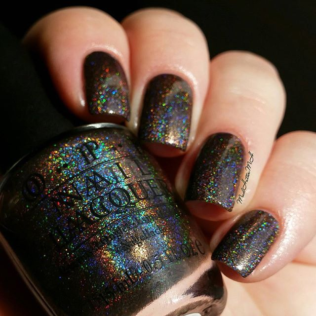 OPI My Private Jet (original holo version) @MadHatterMH