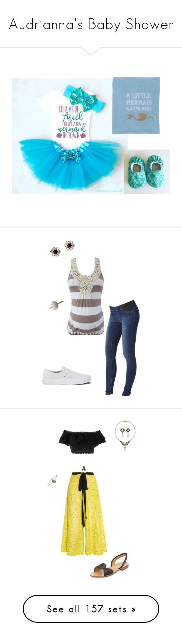 """""""Audrianna's Baby Shower"""" by thesassystewart on Polyvore featuring Mama.licious, Arik Kastan, Vans, Proenza Schouler, Alexander McQueen, Jack Rogers, Kataoka, Vintage, Boohoo and Alessandro Dell'Acqua"""