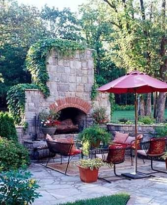 Outdoor Stone fireplaces  Backyard FireplaceFireplace IdeasThe  121 best Outdoor Fireplaces images on Pinterest   Outdoor  . Outdoor Patio Fireplace Ideas. Home Design Ideas