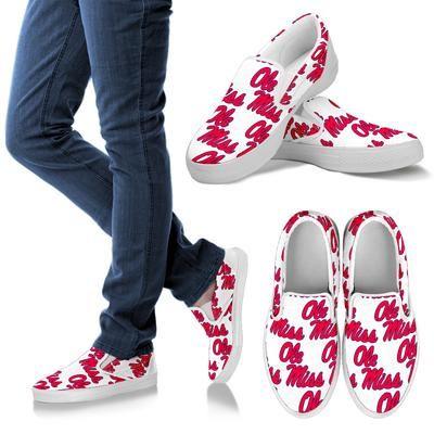 Ole Miss Men's Slip On Shoes – Paragon Apparel