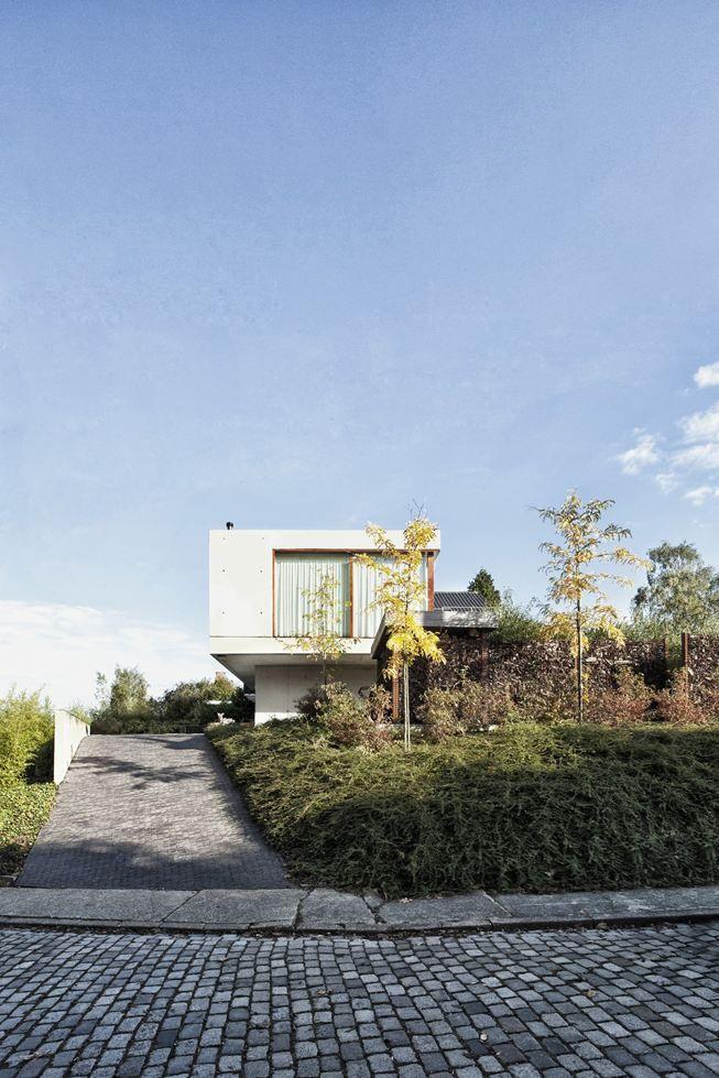 House WIVA Concrete Contrast Herent / Belgium
