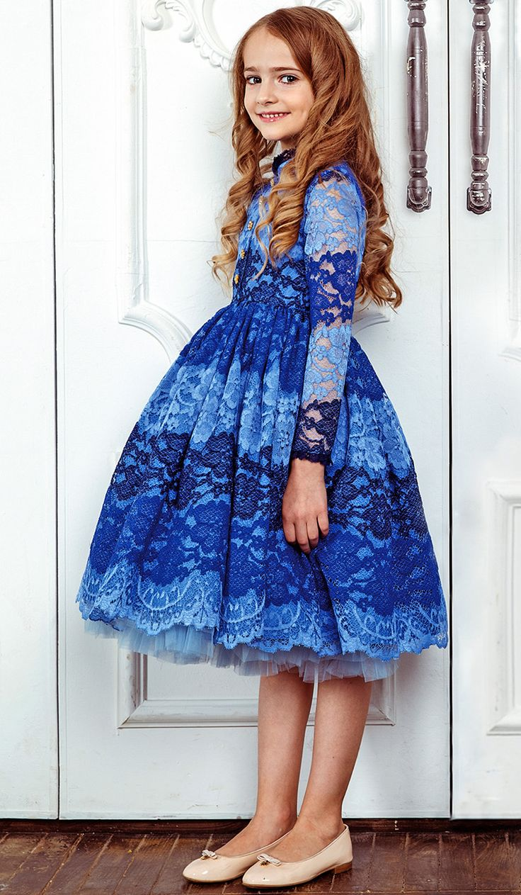ALALOSHA: VOGUE ENFANTS: Must Have of the Day: A beautifully charming dress by Junona FW17